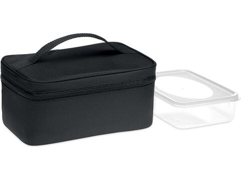 Cooler bag with lunchbox 600D RPET