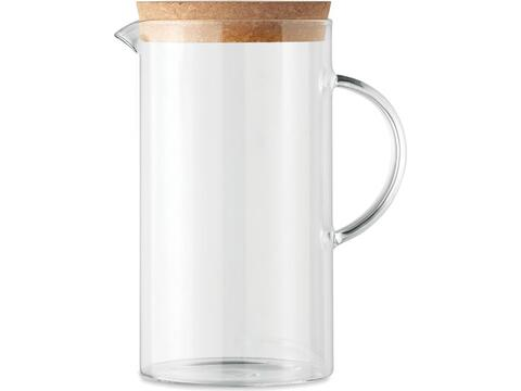 Carafe verre borosilicate - 1 L