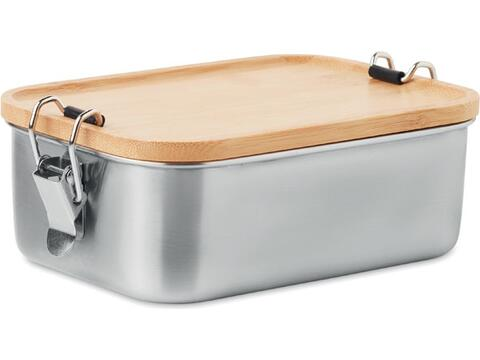 Stainless steel lunch box - 750 ml.