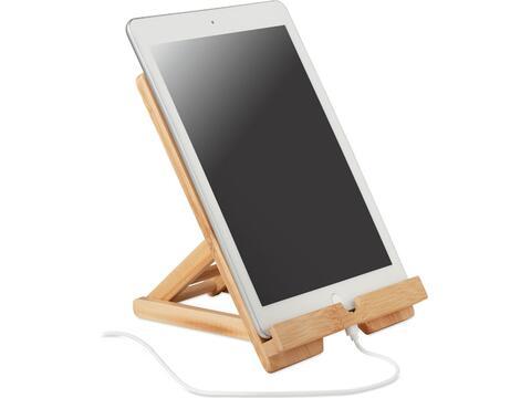 Bamboe tablet standaard