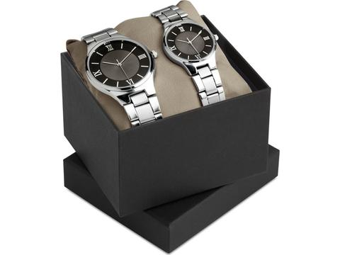 Gent and lady watch set