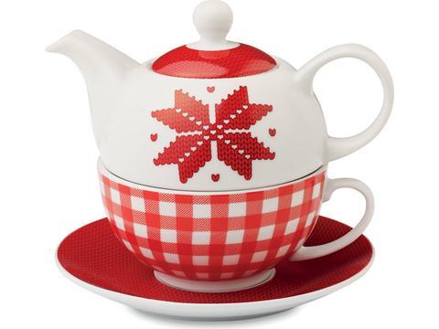 Teapot Nordic pattern