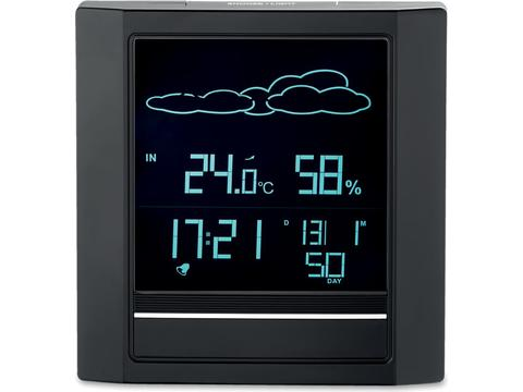 Weather station alarm