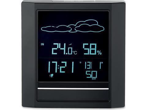 Weather station alarm
