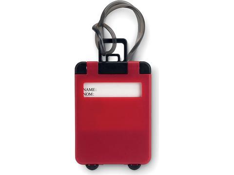 Traveller bagagelabel