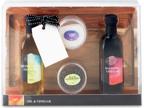 Snijplankset Oil & Vinegar