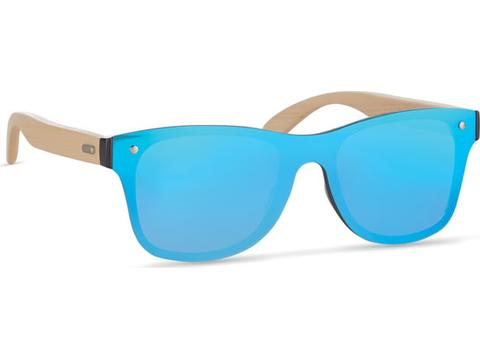 Sunglasses with all over mirrored glass