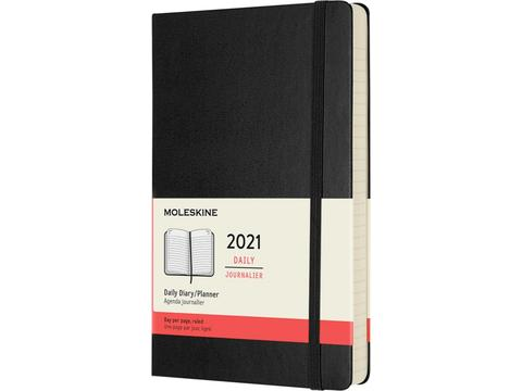 12M daily hard cover planner