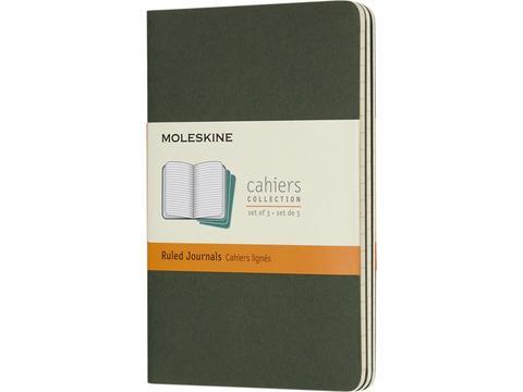Moleskine Cahier dagboek met gelinieerd papier