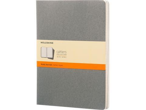 Moleskine Cahier dagboek XL met gelinieerd papier