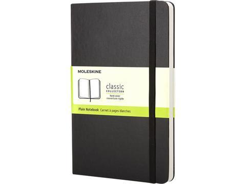 Moleskine Classic notitieboek met harde cover en effen papier