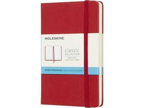 Moleskine Classic notitieboek met zachte cover en stippel papier