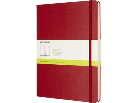 Classic XL hard cover notebook - plain