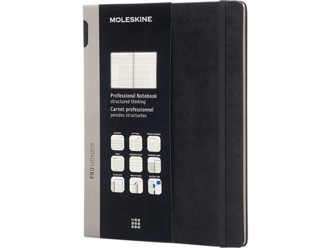 Moleskine Pro notitieboek XL hard cover