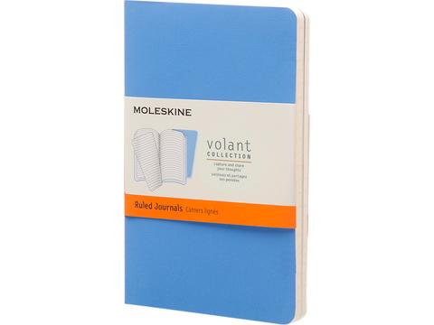 Moleskine Journal Volant de poche - réglé
