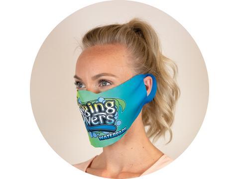 Custom-made face mask full-colour