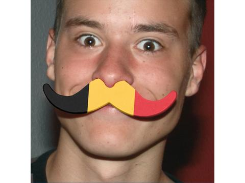 Moustache voor supporters