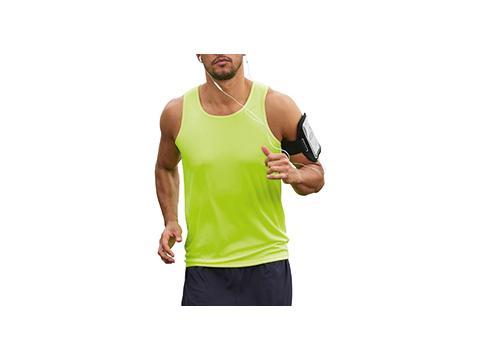 Sport T-shirt mouwloos
