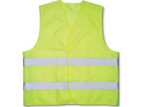 Reflecting safety vest