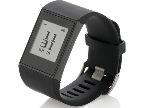 Bracelet connecté avec écran E-ink Multisport