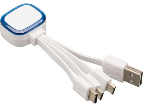 Multi USB charging cable