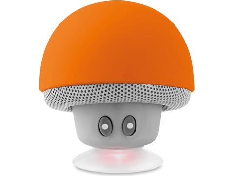 Haut-parleur téléphone forme champignon avec ventouse
