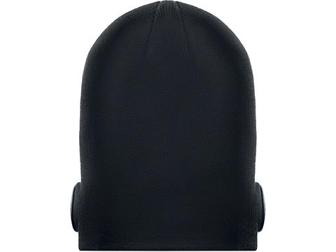 Bonnet bluetooth avec écouteurs