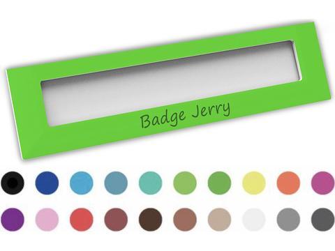 Badge Jerry 74 x 20 mm