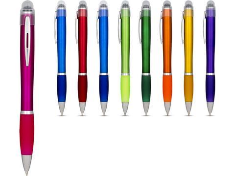 Nash light up pen coloured barrel and coloured grip
