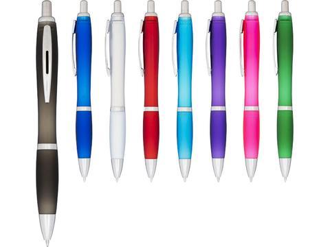Nash frosted ballpoint pen