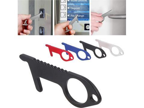 Clean hands keychain