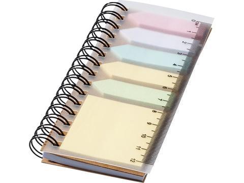 Notitieboek met memo's