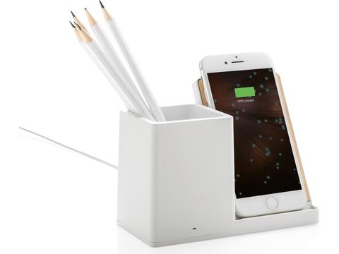 Chargeur à 5W induction Ontario porte crayons