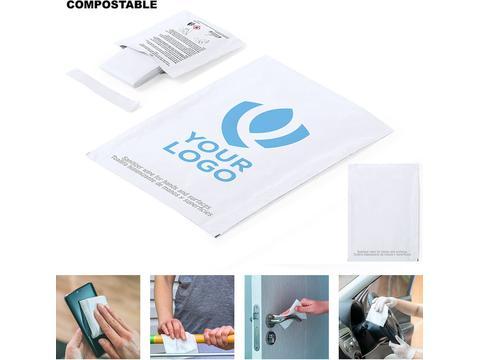 Lingette hygiénique 100% compostable