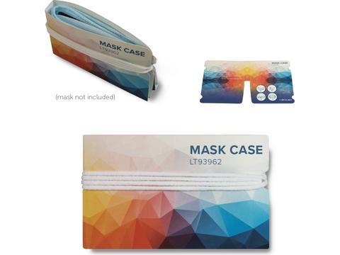 Opberg tasje voor 2 mondmaskers - Print all over