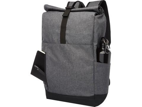 """Hoss 15.6"""" roll-up laptop backpack"""