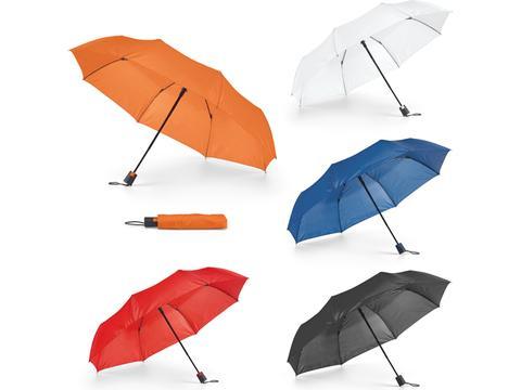 Opvouwbare paraplu in hoes Ø98 cm