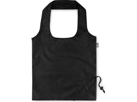 Foldable shopping bag in RPET