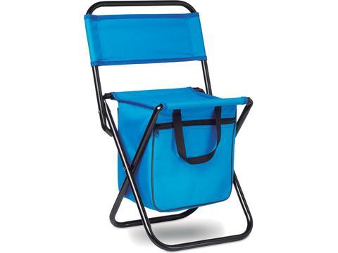 Opvouwbare stoel met koeltas