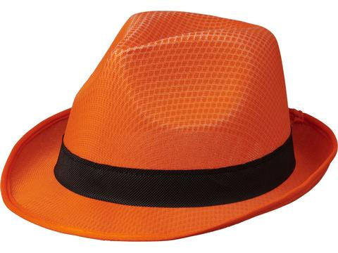 Chapeau Trilby - Orange