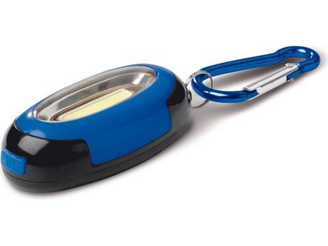 Porte-clés avec lampe COB