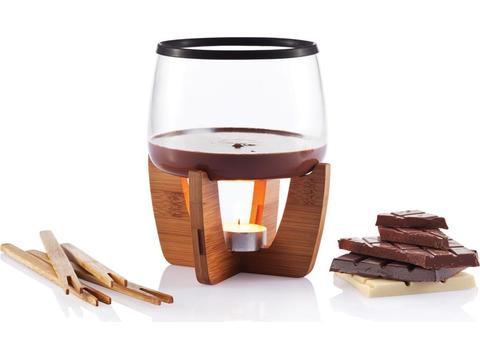 Chocolade fondue set Cocoa