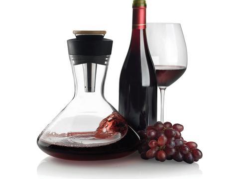 Aerato wine carafe