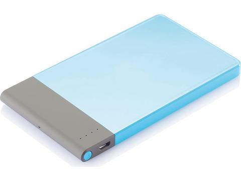 Ultra dunne super powerbank - 4600 mAh