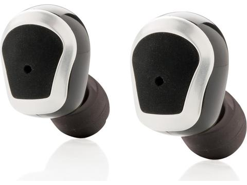 True wireless double earbuds