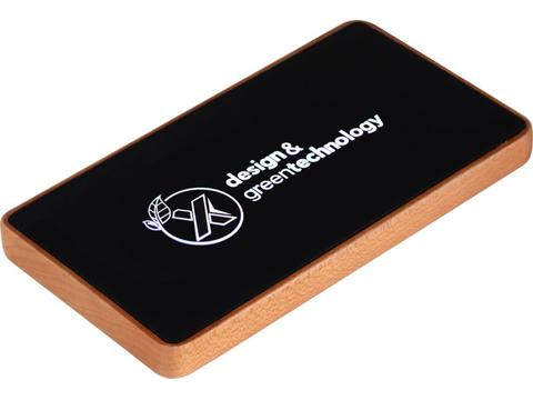P35 5.000 mAh wooden powerbank