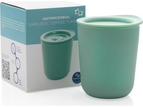 Simplistic antimicrobial coffee tumbler - 250 ml