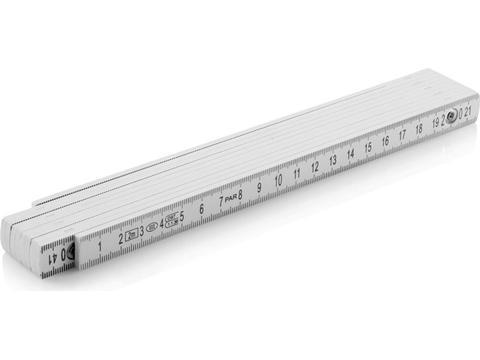 Mètre pliable en fibre de verre