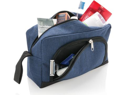 Toiletry bag duo tone