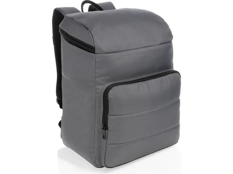 Impact AWARE™ RPET cooler backpack, black